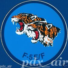 TIGER F-5E/F SINGLE-SEAT F-5F WINGS FIGHTER STICKER