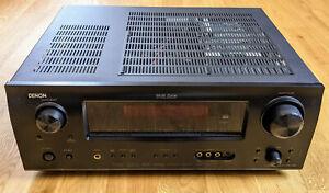 Denon AVR-1909 7.1 Kanäle 120 Watt Empfänger - Verstärker für Heimkino / Audio