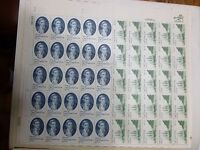 United States Scott 1732 - 1733, the 13 cent Cpt. Cook Full Sheet  of 50
