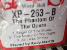 PHANTOM OF THE OPERA PART ONE: 3 Selections NEW LONG PLAY PIANOLA ROLL