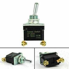 1pcs Waterproof Rocker Toggle Switch On Off Spst 2pin Grade Car B3 Toowei Usa
