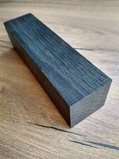 Black bog oak (morta wood) blanks for knife handles 40*40*153