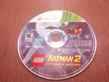 Microsoft Xbox 360 Disc Only Tested LEGO Batman 2 DC Super Heroes Ships Fast