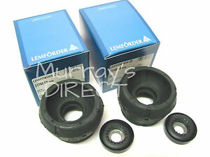Pair Lemforder & Febi Top Suspension Mounts Mount Kits VW Mk4 Golf Bora Audi A3