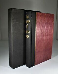Folio Societ. Travels of Marco Polo (1968)  Illustrated with slipcase.