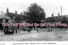 BU 250 - Market Place, Stony Stratford, Buckinghamshire c1913 - 6x4 Photo
