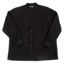 ISSEY MIYAKE MEN Stripe wrinkle processing Shirt Size 1(K-47311)