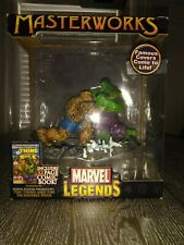 Marvel legends masterworks hulk vs thing