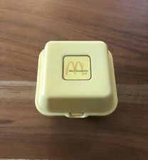 Vintage 1988 McDonalds 6 Piece Chicken McNuggets Happy Meal Toy Box with Nuggets