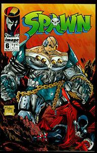 Spawn #6 Image Comics Nov 1992 VF-NM