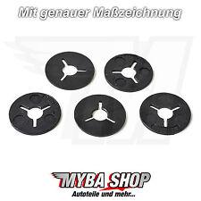 10x Befestigung Klemm Scheiben Clips aus Kunststoff für VW Audi 6N0129355