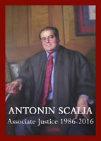 SUPREME COURT JUSTICE ANTONIN SCALIA TRADING CARD