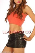 Faldas de mujer de color principal negro de piel