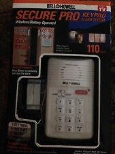 """New""Bell Howell Secure Pro Keypad Alarm system"