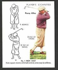 PLAYER - GOLF - #2 PERCY ALLISS