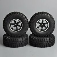 Scale 1:10  R/C Model Rock Crawler Car Tire Tyre Wheel Rims Set of 4PCS 1.9in