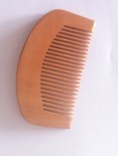 Wooden Mens Moustache Comb for use on moustache, beard, facial hair