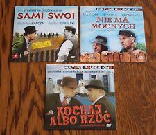 Sami swoi, Nie ma mocnych, Kochaj albo rzuc - TRYLOGIA 3 (DVD) Polish, Polski