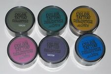 Maybelline Color Tattoo Pure Pigment (Loose Eye Shadow) 6 piece Lot- no repeats