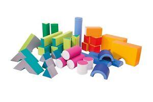 Soft Play Set Childrens Kids Extra Large 33 Shapes Climbing Balancing Equipment