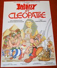 Affiche de cinéma : ASTERIX ET CLEOPATRE de RENE GOSCINNY