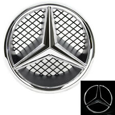 Illuminated LED Light Front Grille Star Emblem Badge for 06-13 Mercedes Benz