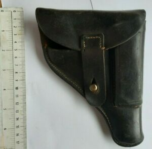 WWII HOLSTER GERMANY GERMAN BREMEN ARMY LEATHER GUN HOLSTER PISTOL MILITARY CASE