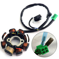 DC Ignition Stator Magneto Coil Generator 8 Pole for GY6 150cc 125cc Scooter ATV