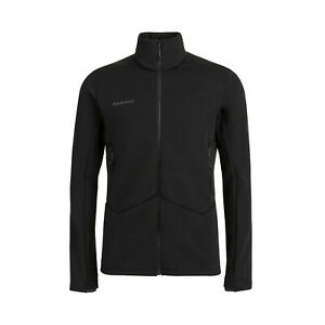 Mammut Herren Fleece Jacke, Aconcagua ML Jacket, Gr: L  black Midlayer