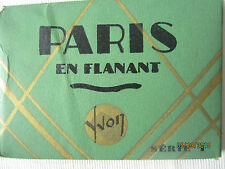 "Vintage B&W Photos Pre-WW II of Scenes of Paris, France-Set of 20 4"" x 2-1/2"""