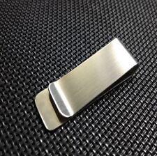 Slim Pocket Stainless Steel Metal Clip Men Purse Cash Clamp Money Clip