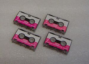 4 pcs  x TRC MC30 Micro cassettes 30min tapes For Sanyo machines Open Pack new