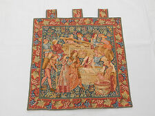 Vintage French Beautiful Scene Tapestry 61x61cm (T1092)