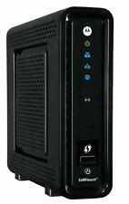 Motorola SBG6580 SURFboard 343 Mbps 4 Port Gigabit Wireless Cable Modem - Black