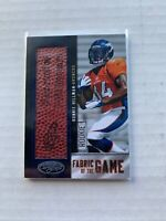 2012 RONNIE HILLMAN Certified Fabric of the Game Panini Authentic /10 #29 Rookie