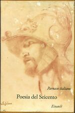PARNASO ITALIANO. Volume VII. Poesia del Seicento. Einaudi, 1972