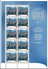 Australia 2004 - Sports Gold Medalists Athens Olympics Swimming - Sc 2273 Mnh