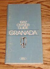 Original 1982 Ford Granada Owners Operators Manual 82