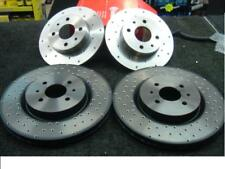 FIAT COUPE 20V TURBO  BRAKE DISC CROSS DRILLED  BRAKE DISC FRONT AND REAR
