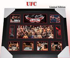 ON SALE!!  UFC MEMORABILIA FRAMED,  LIMITED EDITION TO 499 w/ COA