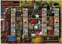 LS75 XMAS 2010  WALLACE & GROMIT  GENERIC SMILERS FULL  SHEET