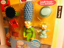 2003 The SIMPSON`s interactive figure WOS series 10 SUNDAY BEST MARGE & MAGGIE