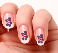 20 Nail Art Decals Transfers Stickers #521 -  care bear  peel & stick