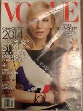 CATE BLANCHETTE VOGUE MAGAZINE English, Fashion JANUARY  2014  MONTHLY