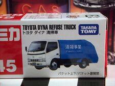 TOMICA #45 TOYOTA DYNA Niegan basura camión escala NUEVO EN CAJA