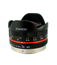 Rokinon 7.5mm Fisheye Lens for Olympus & Panasonic Micro Four Thirds Cameras