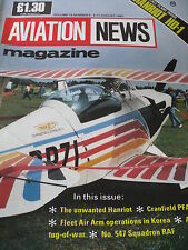 INTERNATIONAL AVIATION NEWS MAG V18#6 SCALE PLANS HANRIOT HD-1 RAF 547 SQUAD