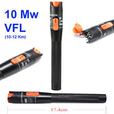 New 10 Mw Visual Fault Locator Finder Fiber Optic Cable Tester Test Equipment