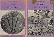 STORIA DELLE RELIGIONI FRIEDRICH HEILER 2 VOLUMI SANSONI (GA590)
