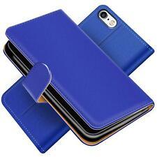 Handy Hülle für iPhone 5 5S SE Schutz Klapp Etui Booklet Cover PU Leder Tasche